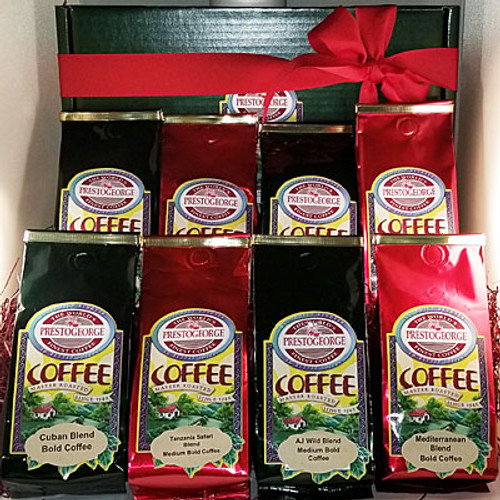 Dark Coffee Lovers' Gift Box - 8 Coffees