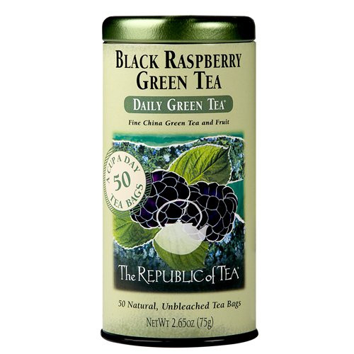 Republic Black Raspberry Green Tea Bags 50ct.