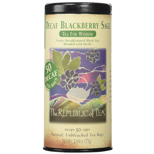 Republic Decaf Blackberry Sage Black Tea Bags 50ct.