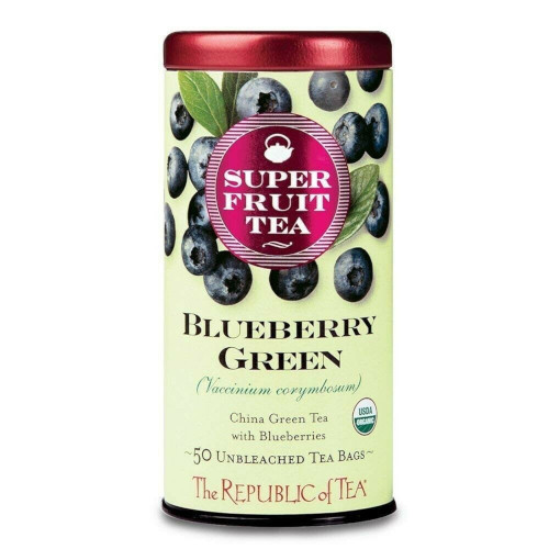 Republic Blueberry Superfruit Green Tea Bags 50ct.