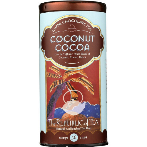Republic Coconut Cocoa Cuppa Chocolate Tea Bags 36ct.