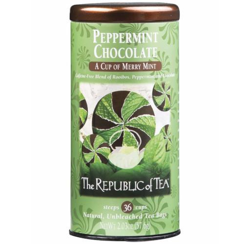 Republic Peppermint Chocolate Tea Bags 36ct.