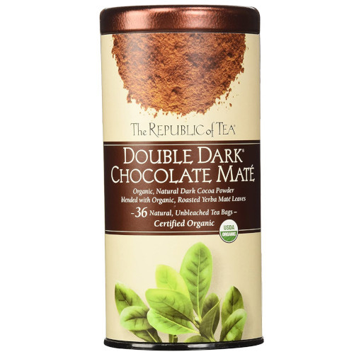 Republic Organic Double Dark® Chocolate Maté Tea Bags 36ct.