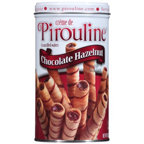 Pirouline Chocolate Hazelnut Rolled Wafers 14.1oz.