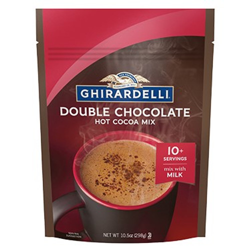 Ghirardelli Premium Hot Cocoa- Double Chocolate 10.5oz.