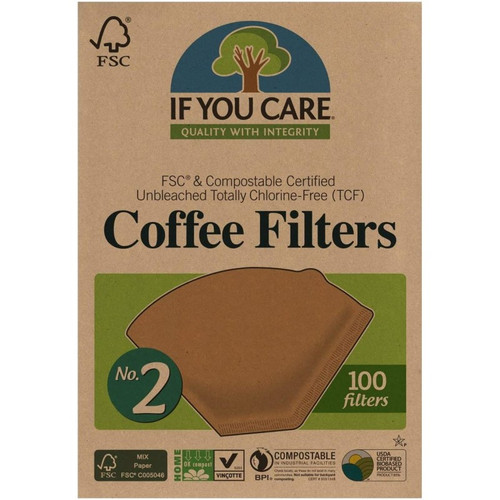 If You Care Coffee Filters No. 2, 100ct.