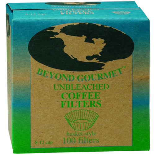 Beyond Gourmet Unbleached Coffee Filters, Basket Style 100ct.