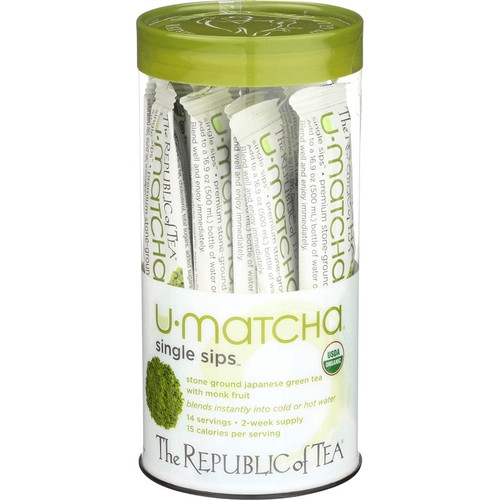 Republic Organic U Matcha Single Sips® Tea 14ct.