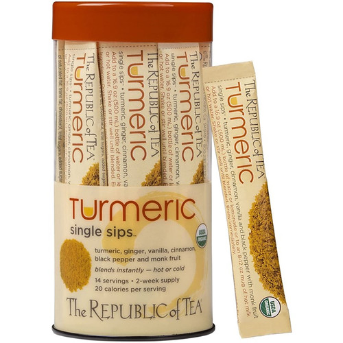 Republic Organic Turmeric Single Sips® 14ct.