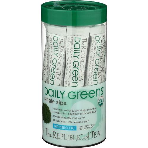 Republic Organic Daily Greens™ Single Sips® 14ct.