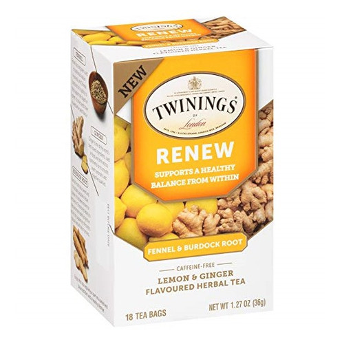 Twinings Renew Tea Bags 18ct.