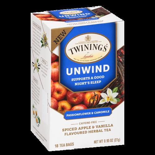 Twinings Unwind Tea Bags 18ct.