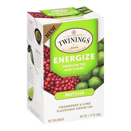 Twinings Energize Tea Bags 18ct.