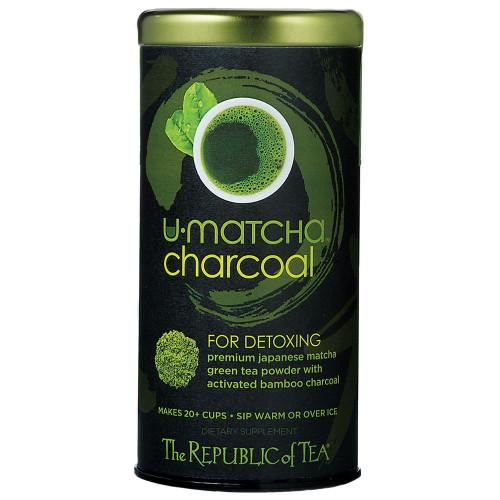 Republic U•Matcha® Charcoal Tea Tin 1.5oz.