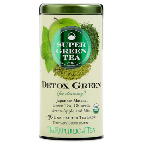 Republic Organic Detox Green SuperGreen Tea Bags 36ct.