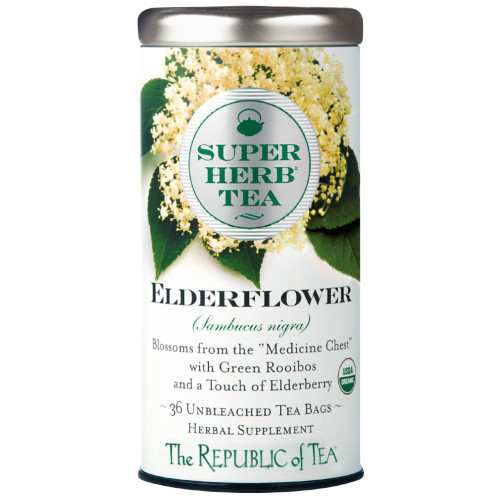Republic Organic Elderflower SuperHerb® Tea Bags 36ct.