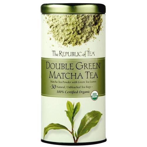 Republic Organic 100% Double Green® Matcha Tea Bags 50ct.