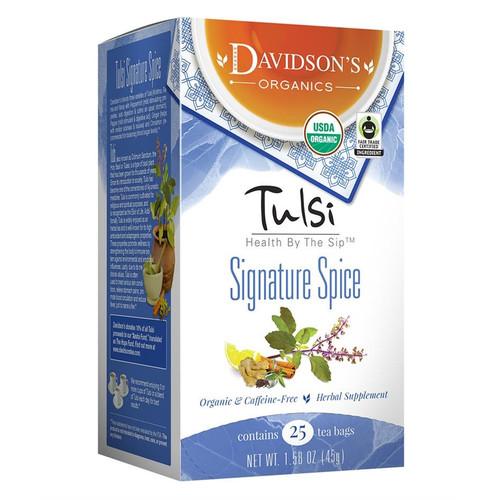 Davidson's Tulsi Signature Spice Tea Bags 25ct.