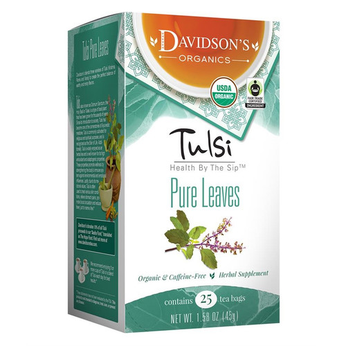 Davidson's Tulsi Pure Leaves Tea Bags 25ct.