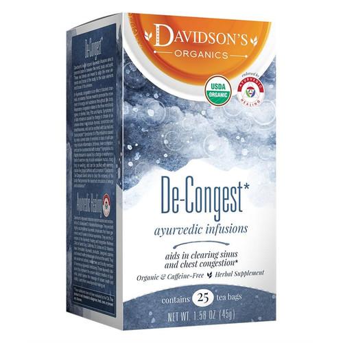 Davidson's De-Congest Tea Bags 25ct.