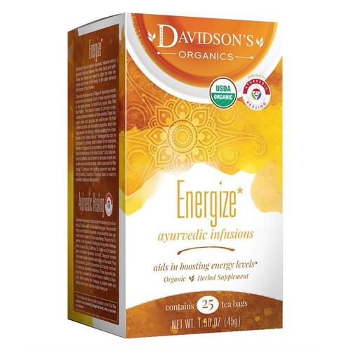 Davidson's Energize Tea Bags 25ct.