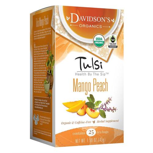 Davidson's Tulsi Mango Peach Tea Bags 25ct.