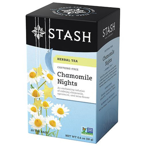 Stash Chamomile Nights Herbal Tea Bags 20ct.
