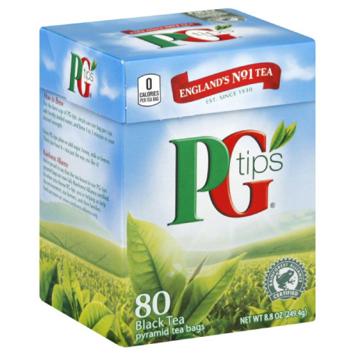PG Tips Pyramid Tea Bags 80ct.