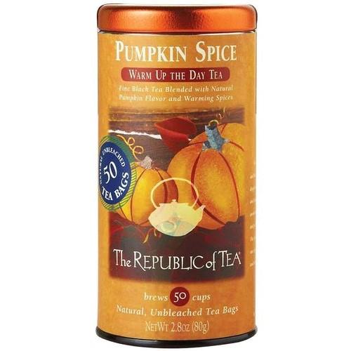 Republic Pumpkin Spice Black Tea Bags 50ct.
