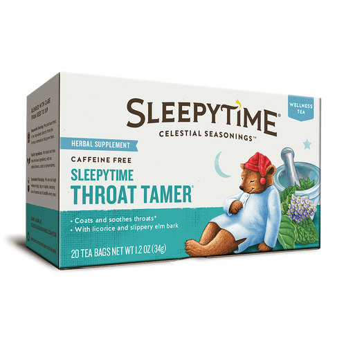 Celestial Seasonings Sleepytime Throat Tamer Tea Bags 20ct.