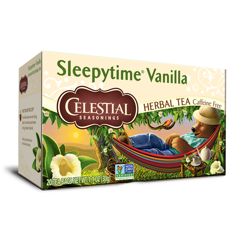 Celestial Seasonings Sleepytime Vanilla Tea Bags 20ct.
