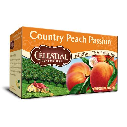Celestial Seasonings Country Peach Passion Tea Bags 20ct.