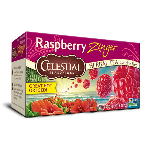 Celestial Seasonings Raspberry Zinger Tea 20ct.
