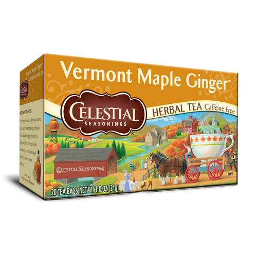 Celestial Seasonings Vermont Maple Ginger Tea Bags 20ct.