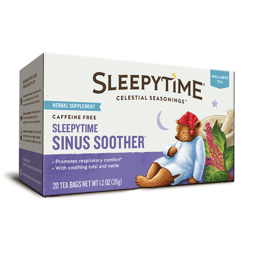 Celestial Seasonings Sleepytime Sinus Soother Tea Bags 20ct.