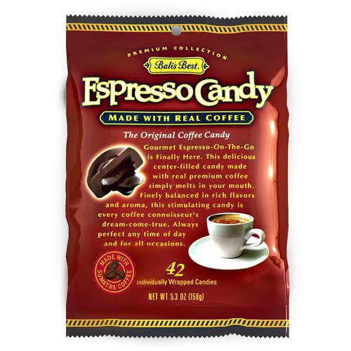 Bali's Best Espresso Candy 5.3oz. Bag