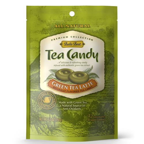Bali's Best Green Tea Latte Candy 5.3oz Bag