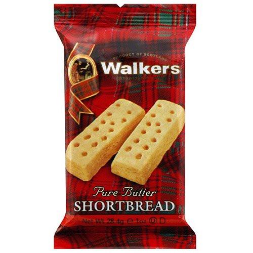 Walkers Pure Butter Shortbread Fingers, 1oz.