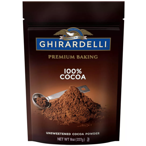 Ghirardelli 100% Unsweetened Cocoa Powder 8oz.