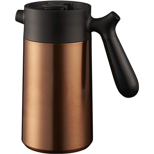 CasaWare Stainless Steel Thermal French Press Coffee and Tea Maker 32oz. Copper