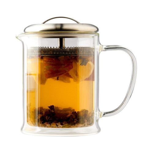 CasaWare Glass Strainer Teapot 15oz.