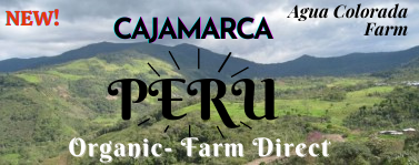 Organic Peru Cajamarca Coffee