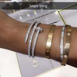 Diamond Nail Bracelet