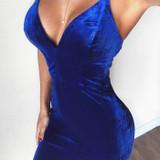 Sweetheart Velvet Dress