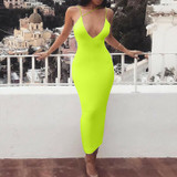 Neon Jessica Midi Dress