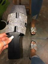H Bling Slip Sandal