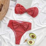 Red Bow Bikini