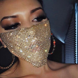 Sequin Bling Mask