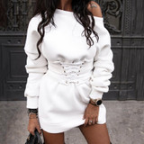 Corset Sweat Dress