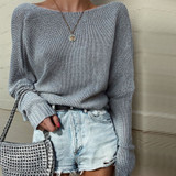 Slouchy Sweater Grey